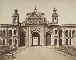 View of the principal gateway into the Kaiserbagh, Lucknow.